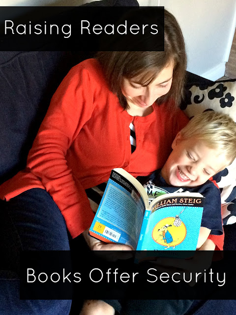 Reading good books together as a family is a source of security for children. Here are some of the reasons why.