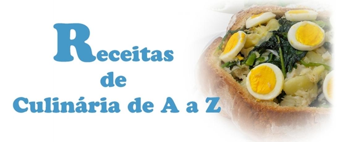 Receitas de Culinária de A a Z