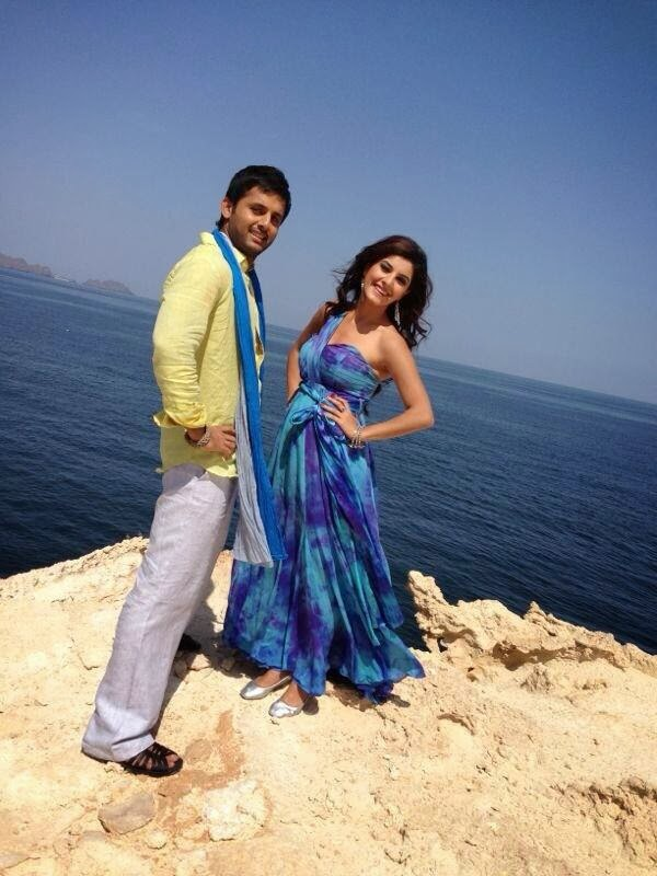 Nithin's Heart Attack Latest Still