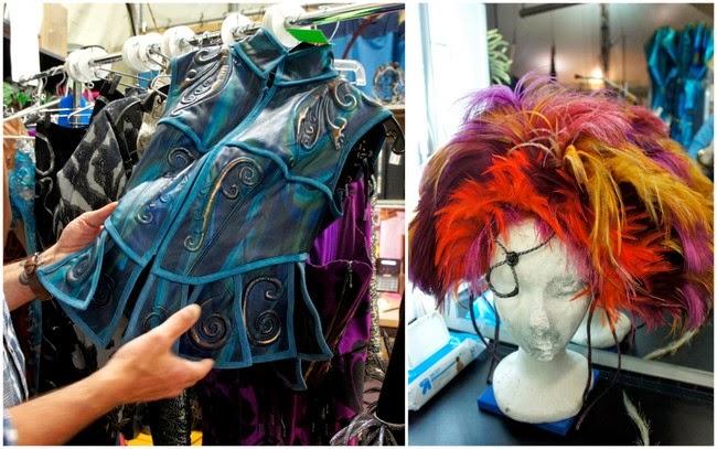 costume at Cirque du Soleil Amaluna