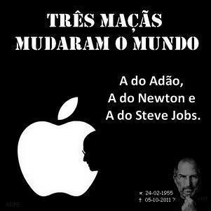 Steve Jobs apple maçã