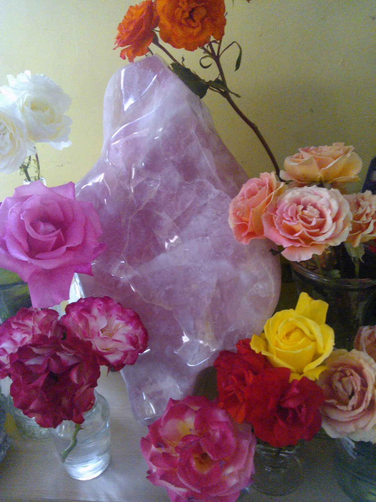 Cuarzo rosa para tu amor incondicional...