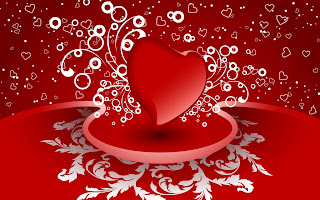 Valentines Day Pictures of  Red color Heart