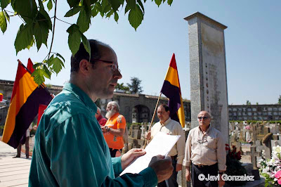 homenaje, republicanos, Lleida,