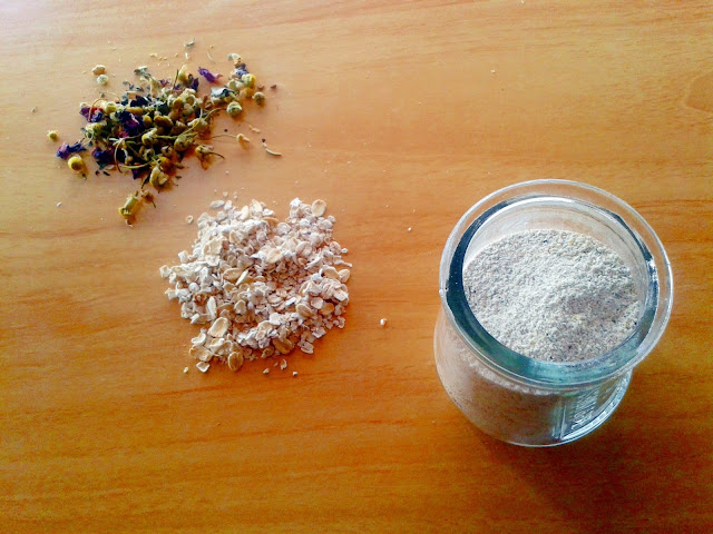 homemade natural cleansing grains