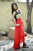 Meghasri glamorous photos in red-thumbnail-3
