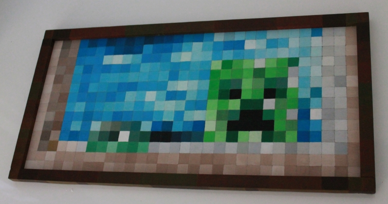 RAB CITY: Minecraft Painting