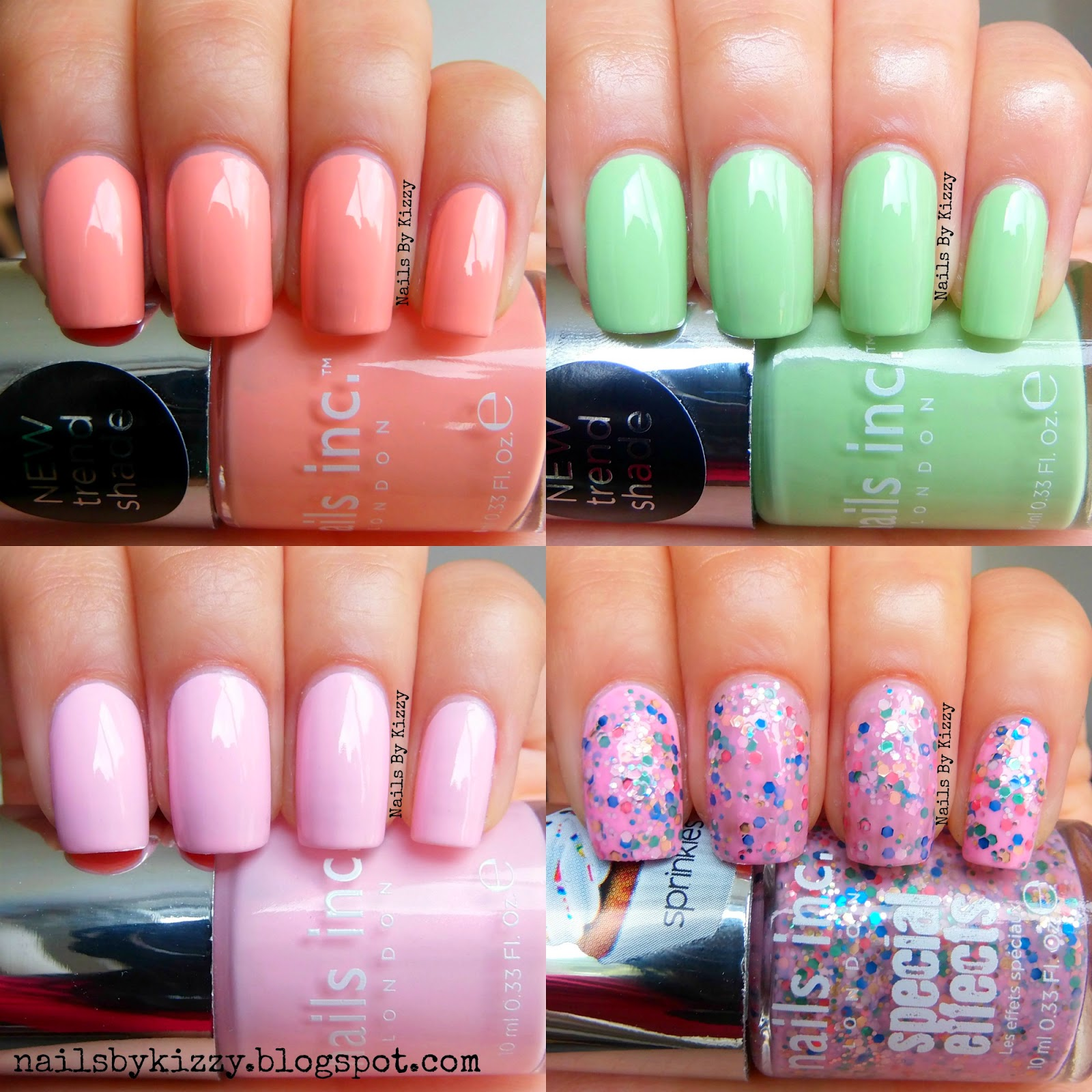 The Collection Came With 8 Full Size Nails Inc Polishes And It Only Cost GBP20 Colours Are So Perfect For Spring Summer