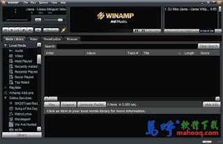 Winamp Portable 免安裝中文版 ,好用的 MP3 音樂播放器