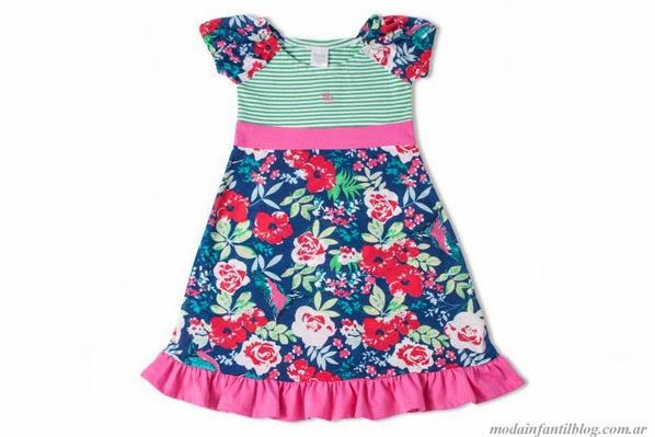 moda infantil verano 2014 vestidos para niñas