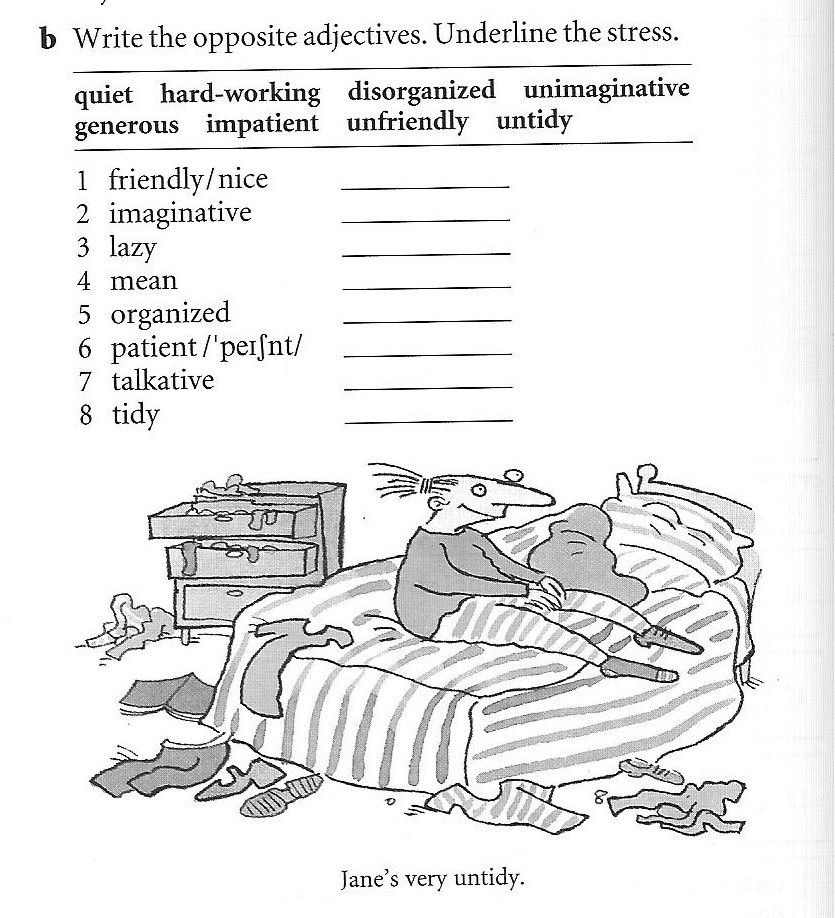 Vocabulary To Describe Peoples on Tall And Short Worksheets