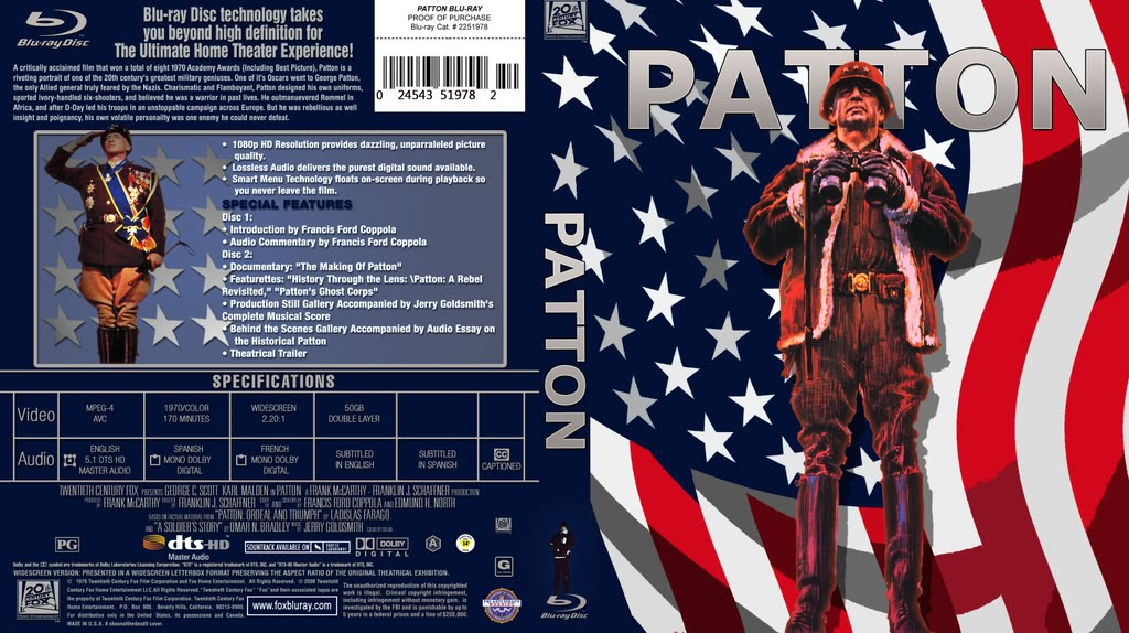 Cover Art and more!: Patton
