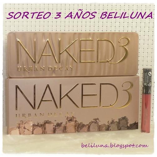 Sorteo Beliluna 3 años (CERRADO)
