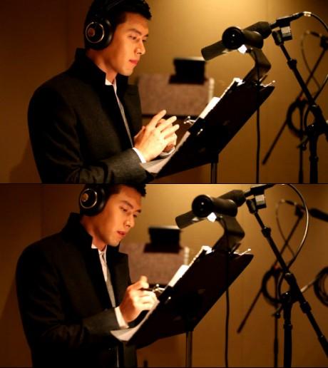 Hyun Bin, meriwayatkan, dan, bintang, di, Samsung Smart TV CF, KPOP, Artis Korea, Hiburan, Korea,