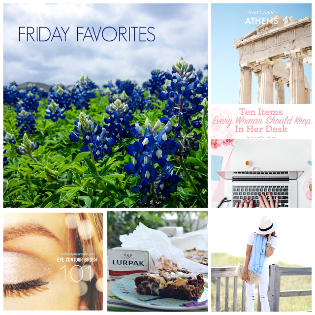 Ioanna's Notebook - Friday Favorites #12 - Travel guide to Athens, 10 items every woman should keep in her desk - all white outfit - brownies with 2 chocolates - eye brushes basics