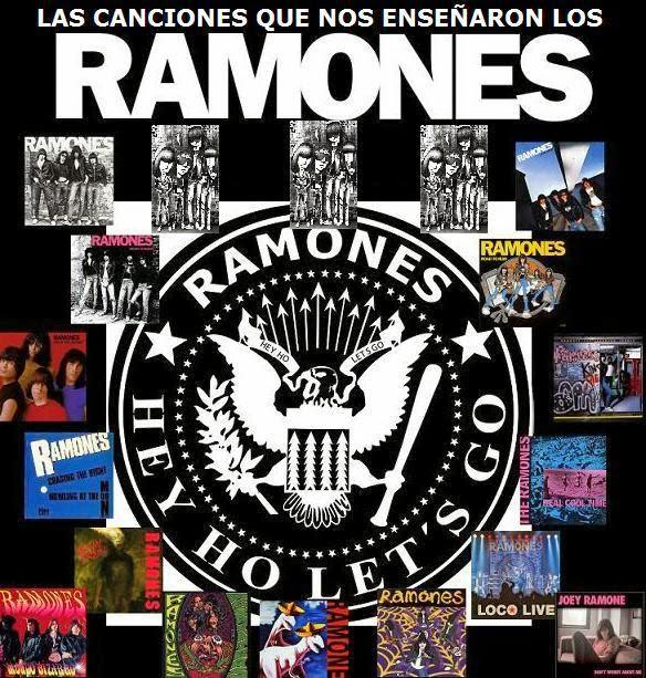 Las canciones que nos enseñaron los RAMONES