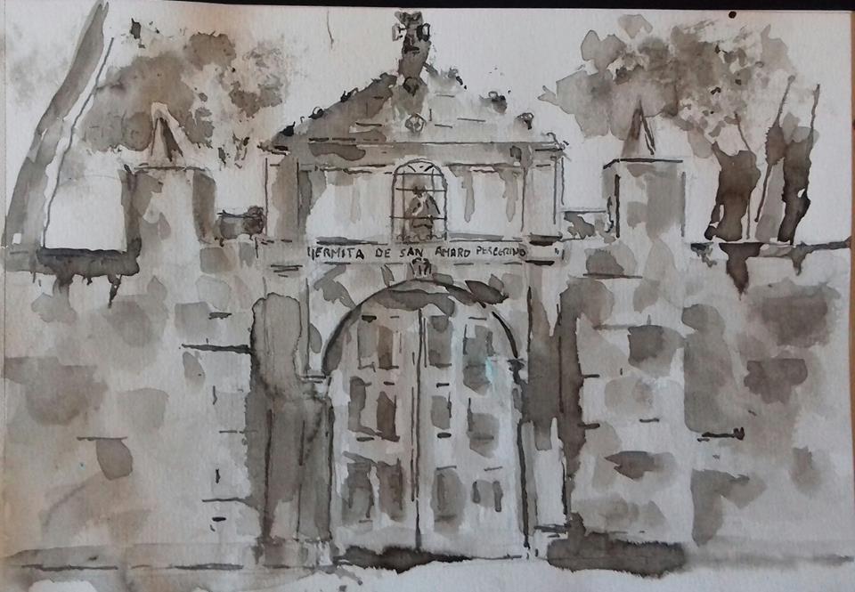 Ermita de San Amaro peregrino en Burgos