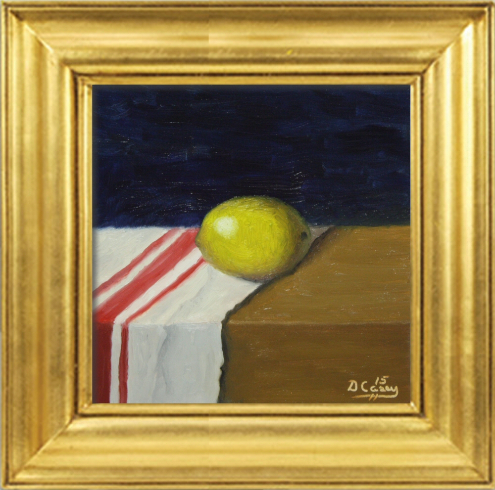 150219 - Kitchen Painting - Lemon 009a 6x6 oil on wood panel - Dave Casey - TheDailyPainter.jpg
