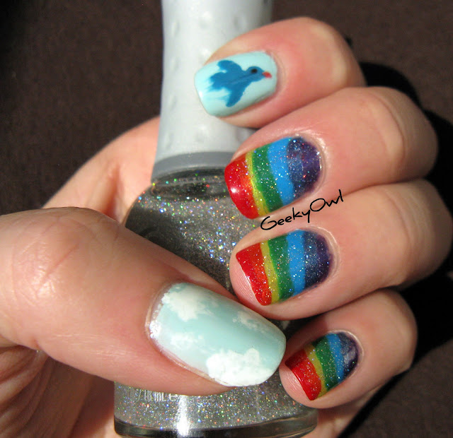 http://geekyowl.blogspot.com/2012/01/31-day-challenge-day-9-rainbow-nails.html