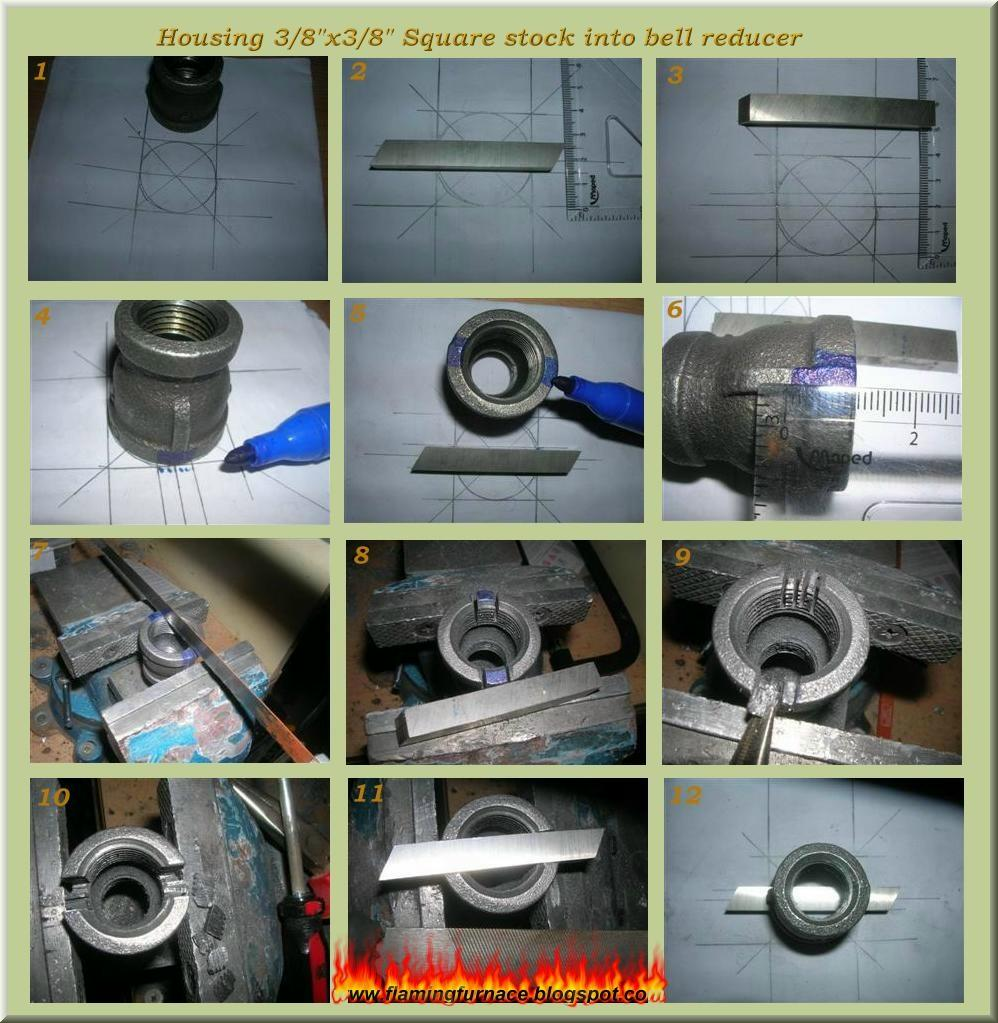 Foundry gas burner ~ Metal casting projects on homemade used oil burner, venturi mixer design, gas burner design, propane burner design,