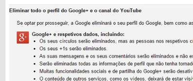 Como excluir conta Google+ mais