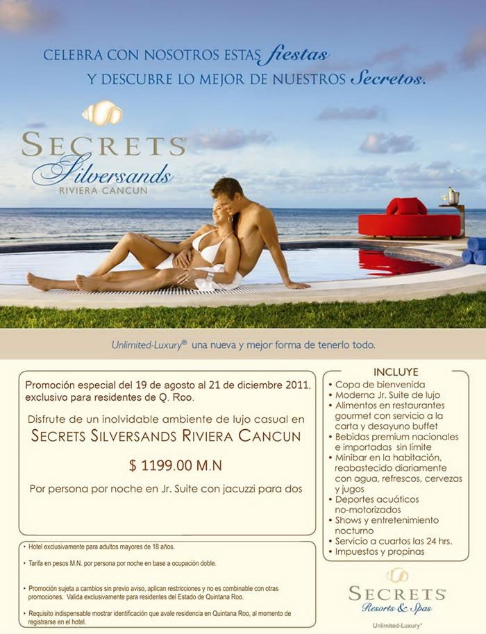 Cupon Oferta Secrets Silversand Riviera Maya
