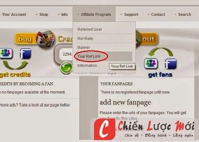 Hướng dẫn kiếm tiền trên facebook và tăng like fanpage