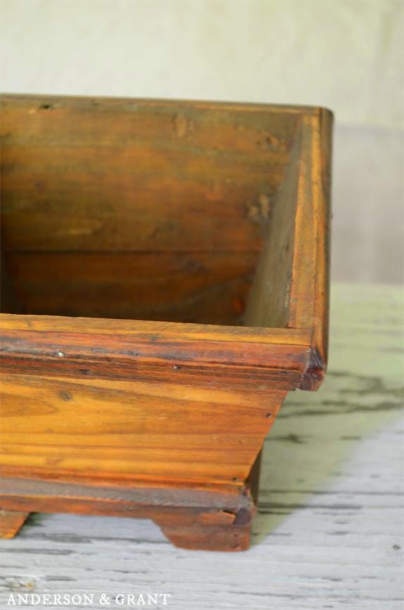 Wooden Planter | Anderson & Grant