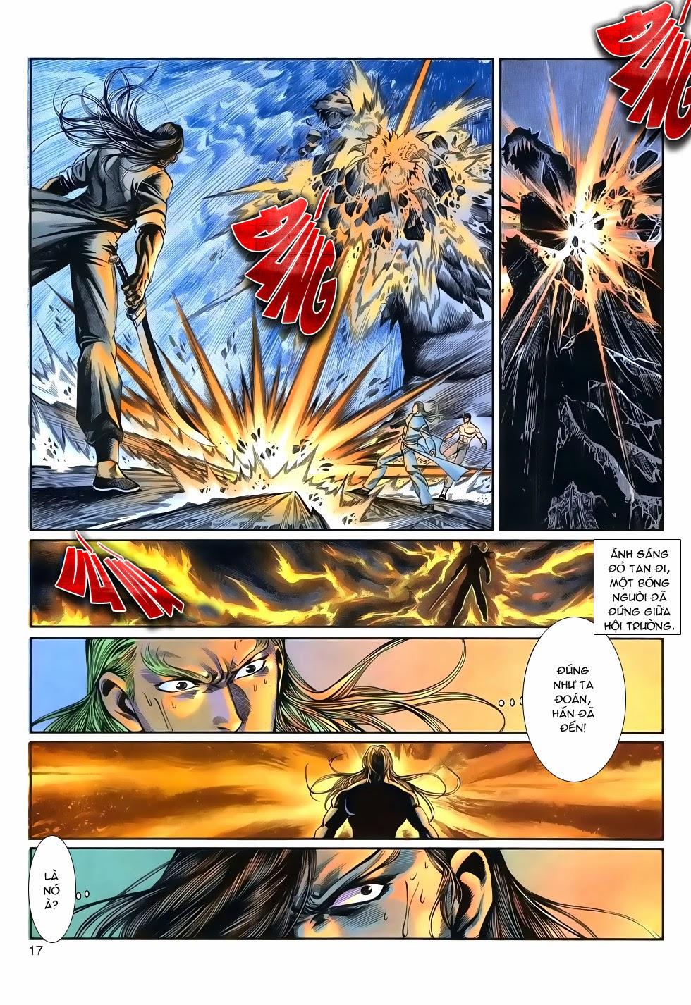 Long Hổ Phong Bạo chap 9 - Trang 17