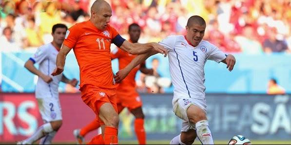 Skor Belanda vs Chile 2-0: Belanda Masihlah Tangguh Untuk Chile