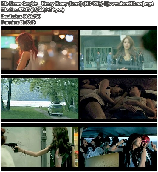 Download MV Gangkiz (갱키즈) - Honey Honey (허니 허니) Part 1 (HD 720p)
