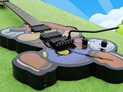 Guitarra do Super Mário