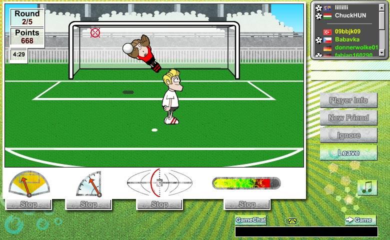 Penaltıcı Fare Oyunu