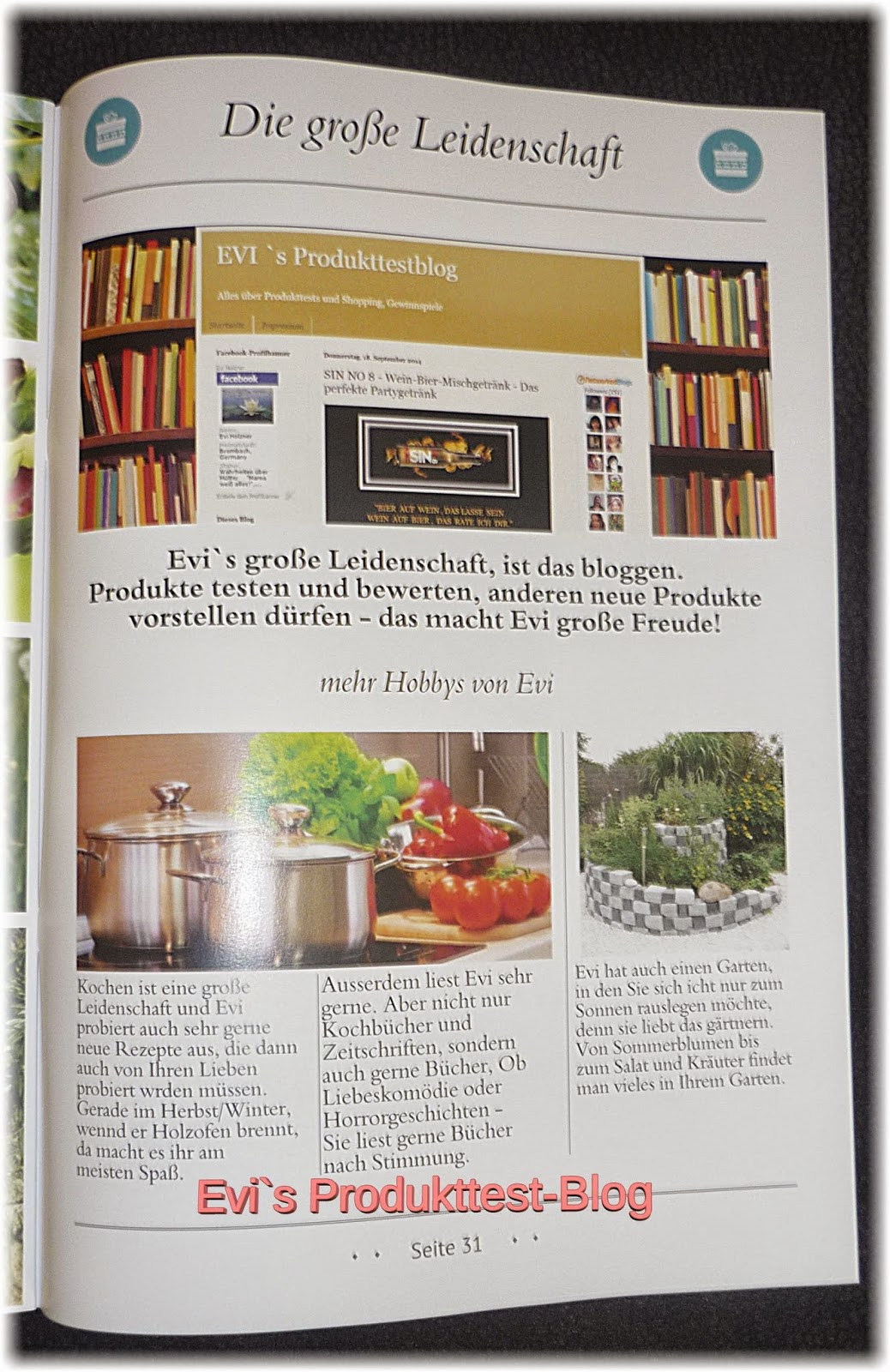 evi s produkttestblog zeitung selbst gestalten mit sendmoments im test. Black Bedroom Furniture Sets. Home Design Ideas