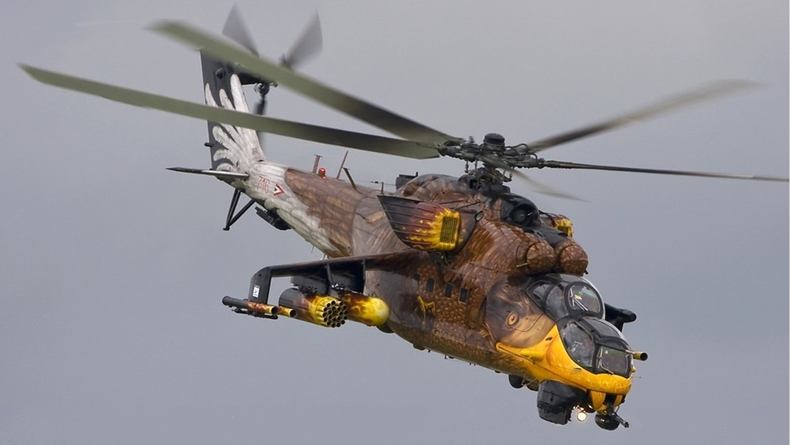 Cool Helicopter Paint Jobs
