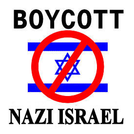 Boycot Nazi Israel