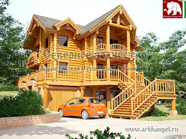 Unusual Cabin Designs : Unusual log house designs home appliance