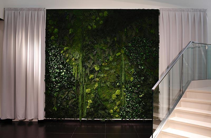 Los jardines verticales de monamour greendesign - Jardines verticales interiores ...