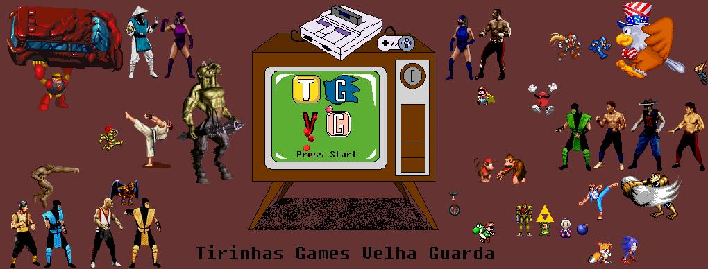 Tirinhas Games Velha Guarda