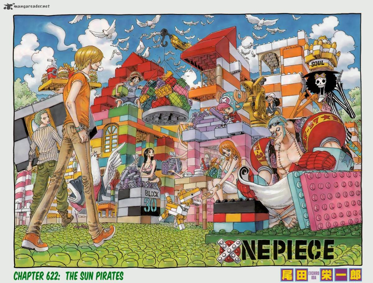 Read One Piece 622 Online | 01 - Press F5 to reload this image