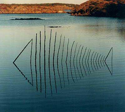 Voici une galerie de quelques oeuvres et artistes de land art