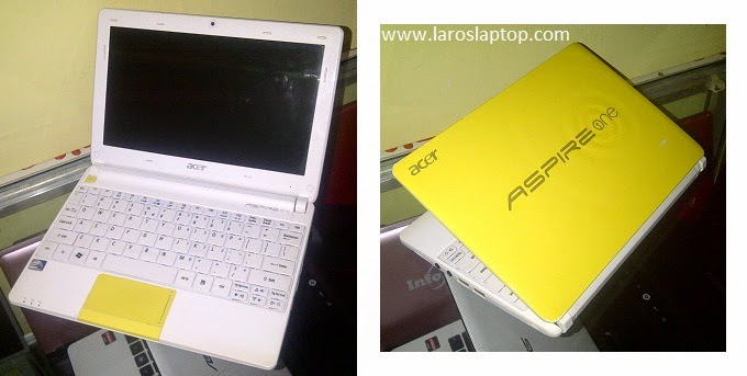 Harga Notebook Second acer AO270 Yellow