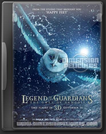 La leyenda de los guardianes (BRRip HD Dual Ingles / Latino) (2010)