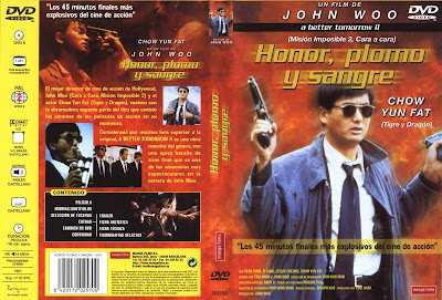 Cover, dvd, carátula: Honor, plomo y sangre | 1988 | Yinghung bunsik II (A Better Tomorrow II)