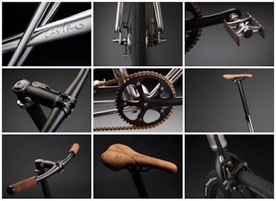 Detalles Bicicleta Castro Bikes