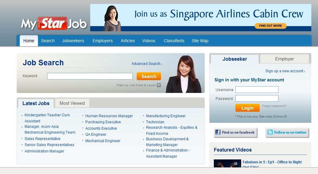5 laman web carian kerja paling popular di malaysia