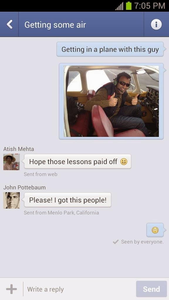 Free Download Facebook Messenger 2.7.2 For Android Apk