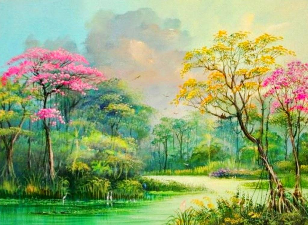 cuadros-de-aves-en-paisajes