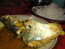 Cara Membuat sayur manyung, mangut kepala ikan