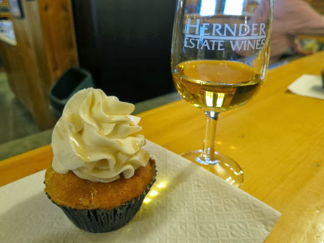 Too sweet cupcake and Hernder Vidal Icewine